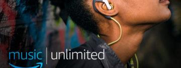 Amazon Music Unlimited arrive également en France